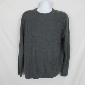 Dockers Sweater Gray Mens size Large NEW